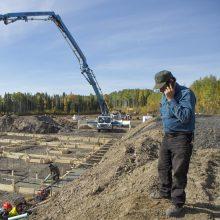 Northern Light farm construction
